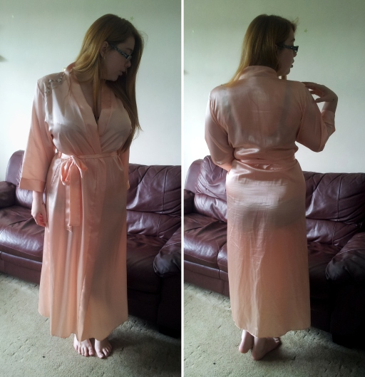 Camille Peach Robe full